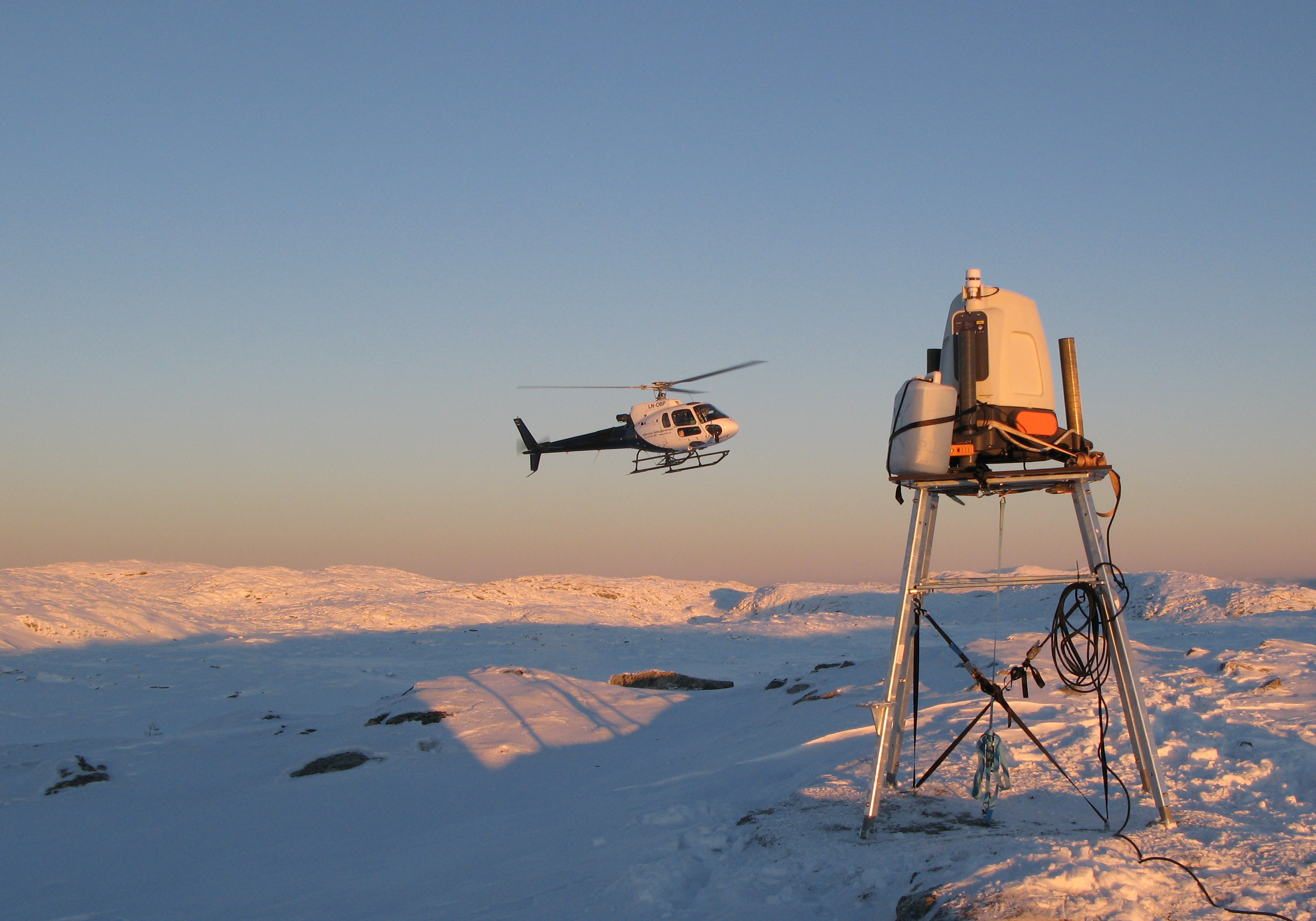 Meventus Lidar and Helicopter